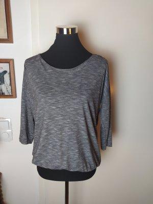 ONLY Top Shirt grau meliert, toller Schnitt, S/36
