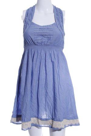 Only Trägerkleid blau Casual-Look
