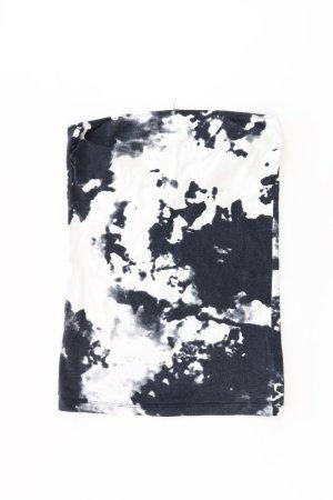 Only trägerloses Shirt Größe M schwarz aus Baumwolle