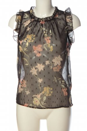 Only Transparent Blouse flower pattern elegant