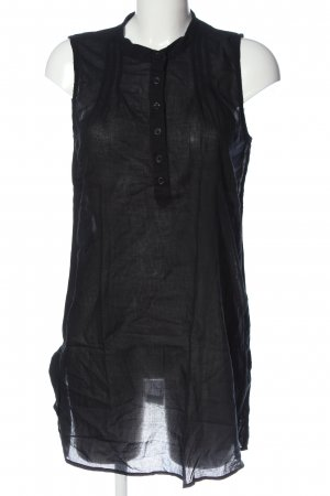 Only Transparenz-Bluse schwarz Casual-Look