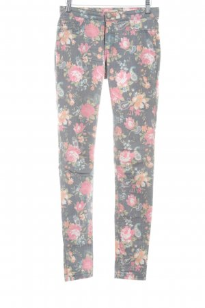 Only Treggings Blumenmuster Casual-Look