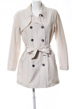 Only Trenchcoat wollweiß Casual-Look