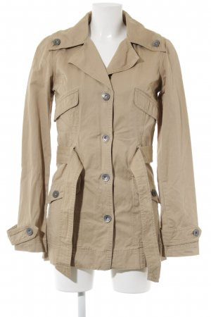 Only Trenchcoat beige klassischer Stil
