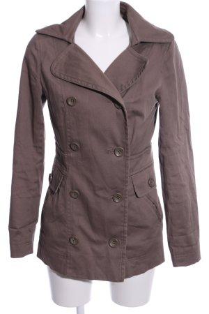 Only Trenchcoat bronzefarben Business-Look