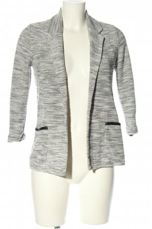 Only Tweed Blazer light grey-white flecked casual look