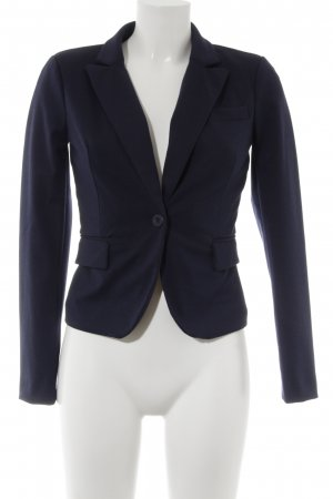 Only Tweedblazer dunkelblau Business-Look