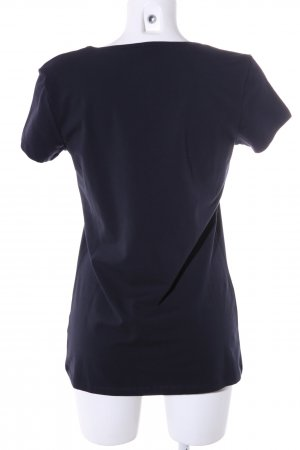 Only Boothalsshirt blauw casual uitstraling
