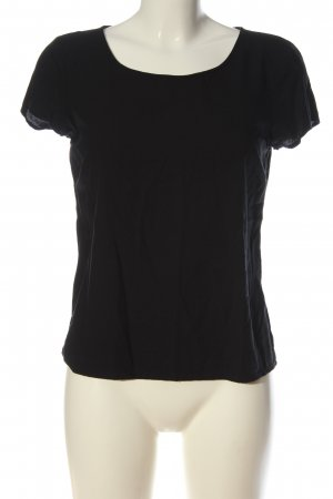 Only U-Boot-Shirt schwarz Casual-Look