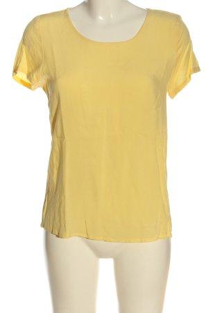 Only U-Boot-Shirt blassgelb Casual-Look