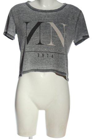 Only U-Boot-Shirt meliert Casual-Look