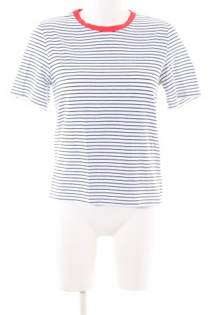 Only Boatneck Shirt allover print casual look