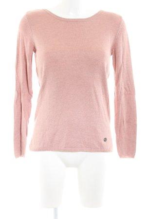 Only V-Ausschnitt-Pullover pink Casual-Look