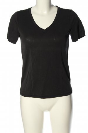 Only V-Neck Shirt black casual look