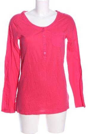 Only V-Ausschnitt-Shirt pink Casual-Look