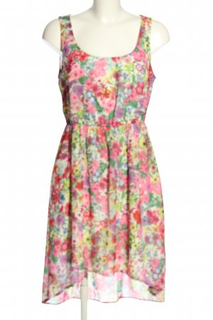 Only High Low Dress allover print casual look