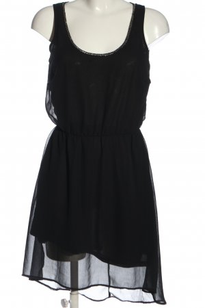 Only High Low Dress black casual look
