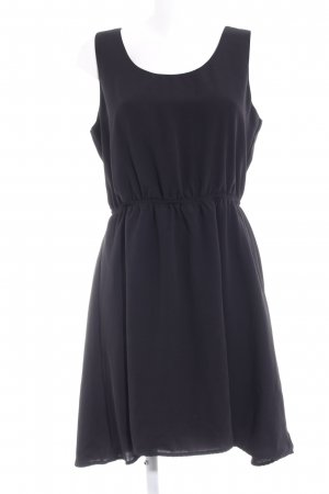 Only Vokuhila-Kleid schwarz klassischer Stil