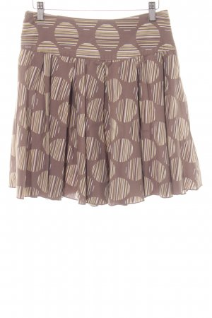 Only Flounce Skirt spot pattern casual look