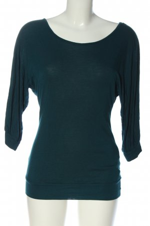 Only Feinstrickpullover blau Zopfmuster Casual-Look