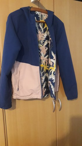 Only Reversible Jacket pink-steel blue polyester