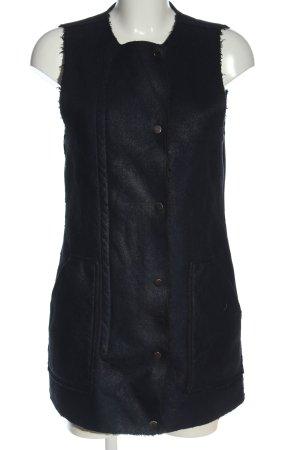 Only Omkeerbaar vest zwart casual uitstraling