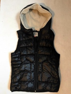 Only Capuchon vest zwart