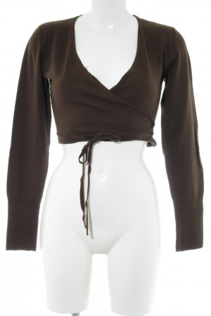 Only Wraparound Jacket bronze-colored casual look