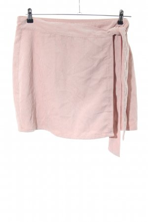 Only Wickelrock pink Streifenmuster Casual-Look