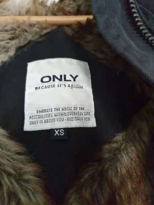 Be only Cappotto invernale nero