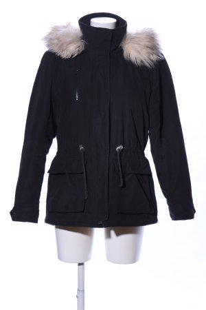 Only Veste d'hiver noir style décontracté