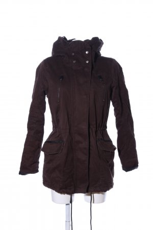 Only Winterjacke braun Casual-Look