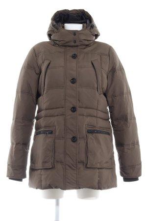 Only Winterjacke khaki-schwarz Casual-Look
