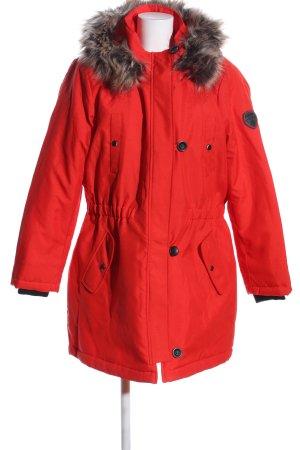 Only Veste d'hiver rouge style décontracté