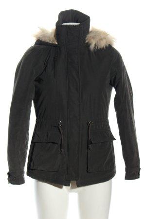 Only Winterjacke schwarz Casual-Look