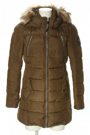 Only Wintermantel bronzefarben Steppmuster Casual-Look