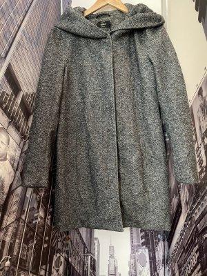 Only Manteau à capuche gris