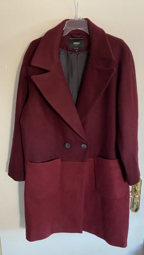 Only Wool Coat multicolored wool