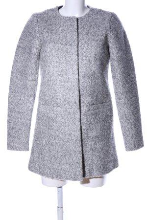 Only Cappotto in lana grigio chiaro puntinato stile professionale