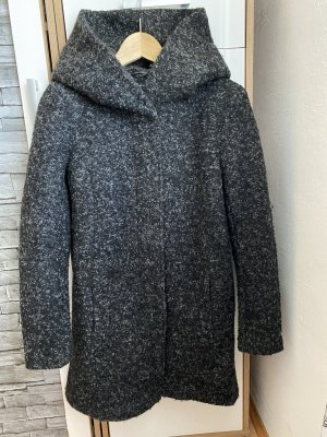 Only Wool Coat anthracite-black