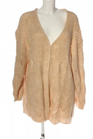 Only Zopfpullover nude Zopfmuster Casual-Look