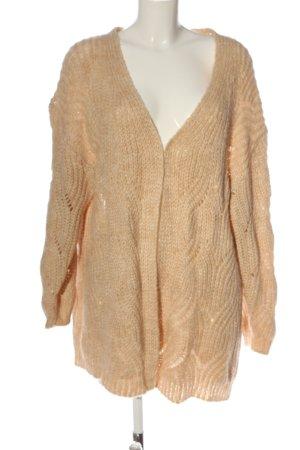 Only Warkoczowy sweter nude Warkoczowy wzór W stylu casual