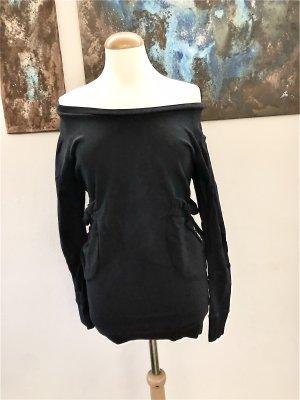 ONTOUR Bio Baumwolle S 36 Pullover legeres Sweatshirt mit Taschen