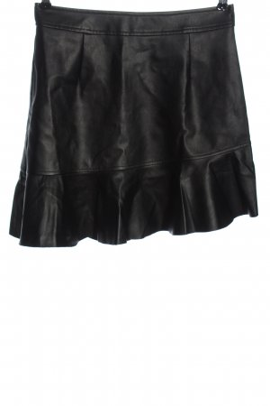 Onygo Faux Leather Skirt black casual look