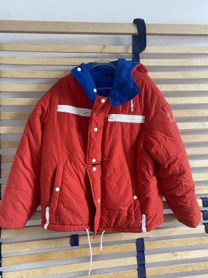OOF Wear Veste réversible bleu-rouge brique