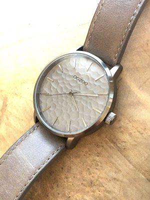 Oozoo Reloj con pulsera de cuero multicolor