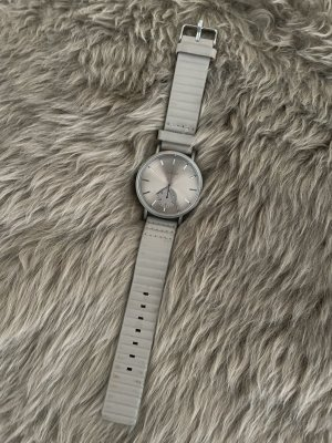 Oozoo Reloj analógico marrón grisáceo