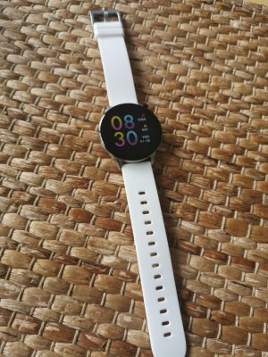 Oozoo Digital Watch white-silver-colored