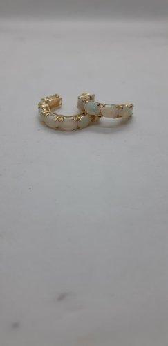 Opal,gold 585 Creolen