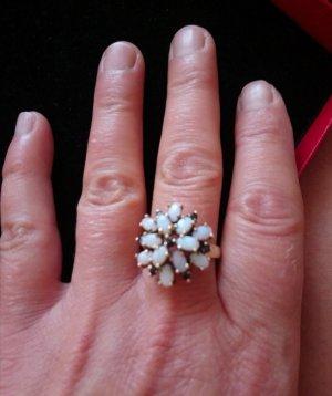 Opal Ring Echtsilber